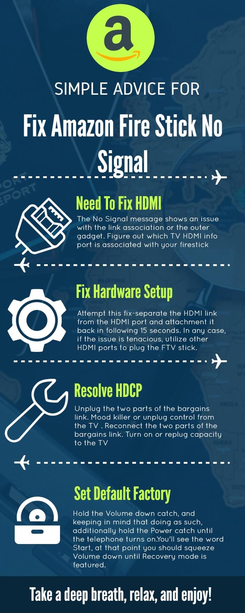 Amazon Firestick No Signal: 2 Min Fix (844-464-3666) - FS Solutions