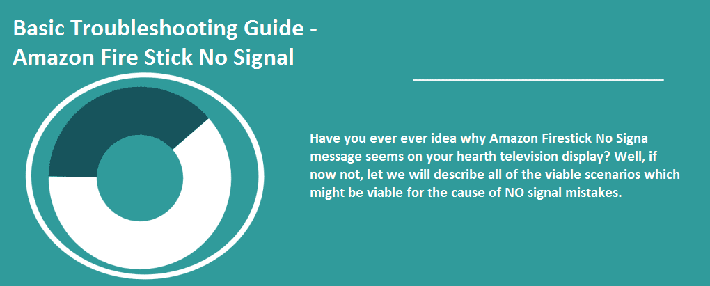 no signal firestick help