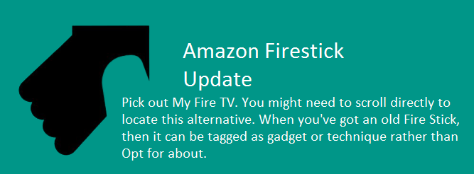 firestick update