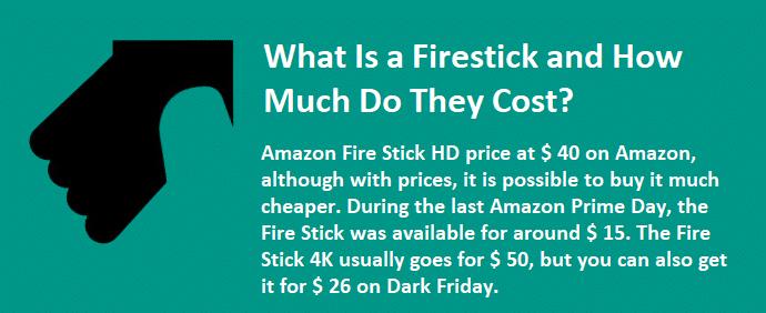 Fire Stick Cost