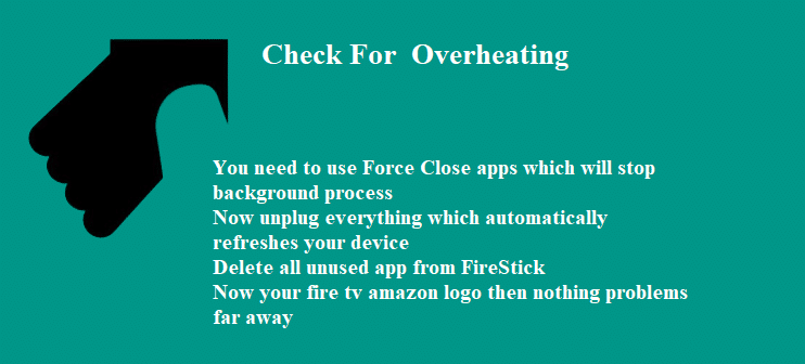 Check For Overheating
