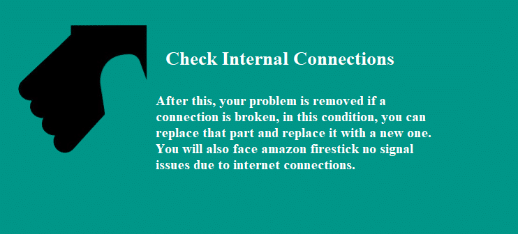 Check Internal Connections