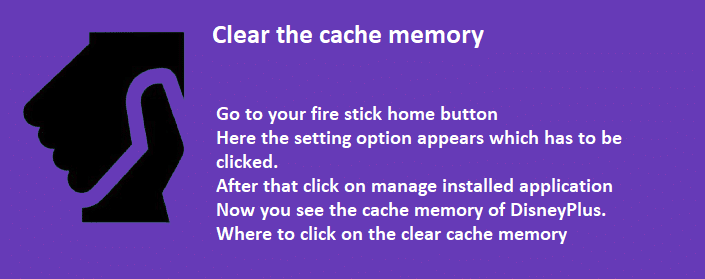 Clear the cache memory