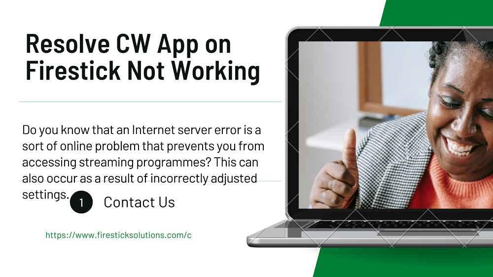 cw app on firestick not working